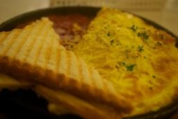The Vegetarian Omelette is heaven!